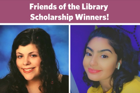 Photos of our scholarship recipients, Eileen and Lily.