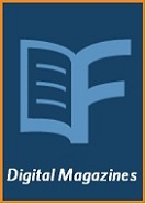 Logo for Flipster, which offers digital magazines with your library card.