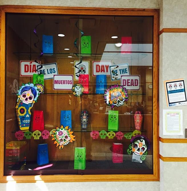 dayofthedead display
